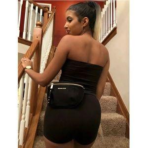 $128 Michael Kors Leila Fanny Pack MK Belt Bag